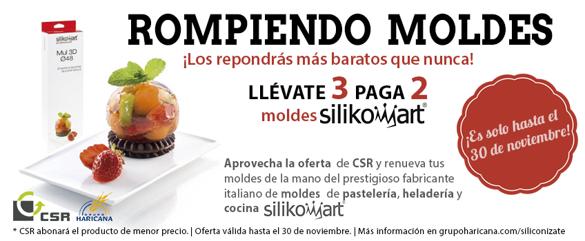 Grupo Haricana CSR, Oferta moldes Silikomartfeatured image